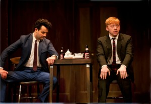 Daniel_Mays_28Potts29_and_Rupert_Grint_28Sweets29_in_Mojo2C_photo_by_Simon_Annand